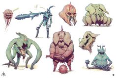 ★ || CHARACTER DESIGN REFERENCES | キャラクターデザイン  • Find more artworks at https://www.facebook.com/CharacterDesignReferences & http://www.pinterest.com/characterdesigh and learn how to draw: #concept #art #animation #anime #comics || ★