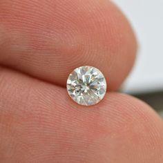 0.70 Carat F SI1 Round Cut Enhanced Natural Loose Diamond For Engagement Ring #MyDiamonds