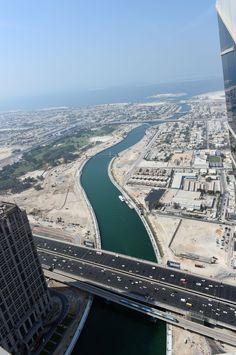 Dubai Canal opening tonight, November 2016 ~ ღ Skuwandi Abu Dhabi, Apply For Passport, Dubai Buildings, Number Of Countries, Passport Online, Dubai Travel, Sharjah, Futuristic Architecture, Dubai Uae