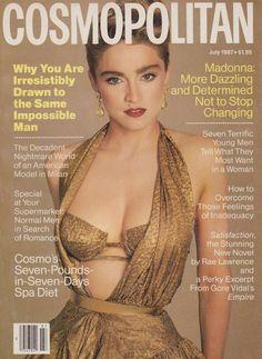 Cosmopolitan magazine, JULY 1987  Model: Madonna Photographer: Francesco Scavullo