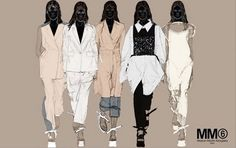 MM6 Collection SS15 by Pavel Bagan.