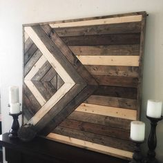 Wood wall art is all the rage right now. This piece is just the thing to put your home décor game on the next level. We meticulously hand select every piece of wood that we use in our artwork from locally sourced vendors. After we pick the perfect pieces, we hand cut, hand sand,
