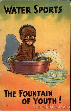 Water Sports; the Fountain of Youth! Black Americana