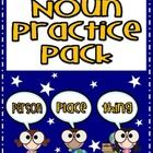 A freebie nouns practice pack! :)...