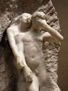 Rodin - Orpheus and Eurydice