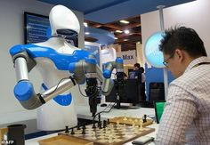 From a chess playing robot with 'supervision' to a backpack that lets you experience VR anywhere: Taiwan's largest technology conference kicks off