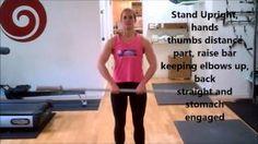 Upright Row - annamarshnutrition - YouTube