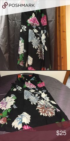 Kirna Zabete for Target Dress Beautiful fully lined Floral Stamped Kirna Zabete for Target Dress. In excellent condition. No rips,stains or tears. 😊 Offers Accepted Kirna Zabete for Target Dresses