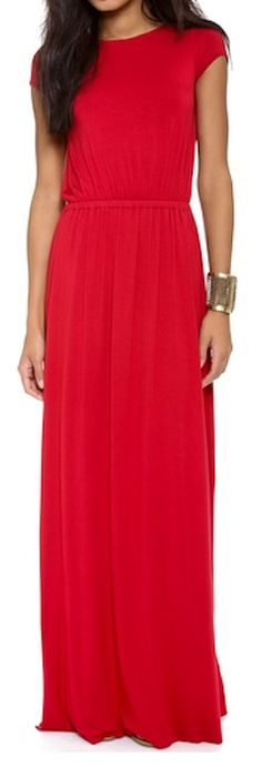 beautiful #red #maxidress  http://rstyle.me/n/fynnkpdpe