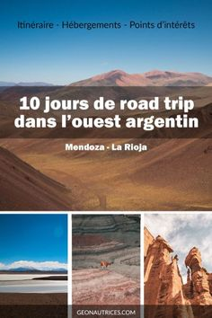 Superb road trip between Mendoza and La Rioja in Argentina Les Géonautrices Columbia South America, South America Travel, Road Trip Destinations, Vacation Trips, Travel Photographie, Mendoza, America Memes, Travel Photos, Places To See