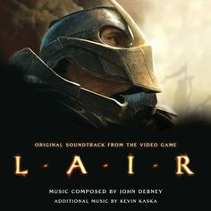 LAIR: Music by John Debney. 2-CD SET. Limited Edition of 2000 Units.