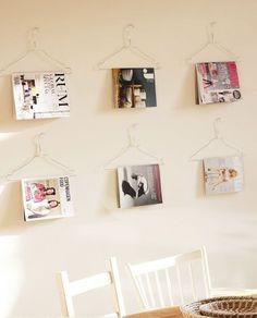 Необычное хранение журналов