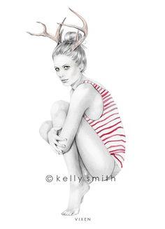 i love the antlers.  love.