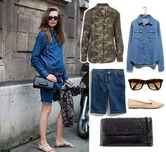 cameo, chambray must have look