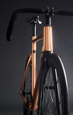#design #urbike #bicycle #track #copper #speed #bike #bikeporn