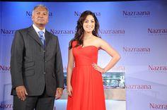Yaami Gautam with Vikram Merchant at Nazraana's Kolkata Event