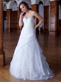 Ginza Wedding Gown - Kennith Winston Collection  - Style #PL1455