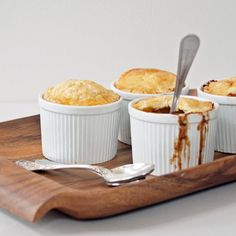 Individual Guinness Beef Pot Pies