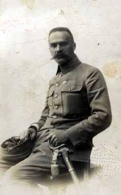 Józef Piłsudski Polish Government, Polish People, Semper Fidelis, Austro Hungarian, Wwi, Historical Photos, Old Photos, World War, Fandom