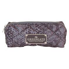 GreenGate Nylon Cosmetic Bag Alli Warm Grey 18 x 8 cm | NEW! Autumn/Winter 2014 | Originated-Webshop