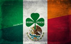 Irish/Mexican. Yep that's me Irish with a bit of Mexican.