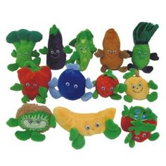 Cute fruit and veggie props for your nutrition awareness unit!