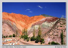 ARGENTINA- Jujuy-Cerro de los siete colores