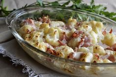 Cavolfiori gratinati un contorno o secondo piatto delizioso per chi ama i cavolfiori,semplicissimo da preparare