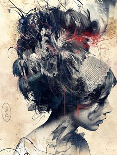 Digitally Assembled Paintings by Russ Mills portraits painting illustration Art And Illustration, Creative Illustration, Art Illustrations, Fashion Illustrations, Street Art, Art Watercolor, Wow Art, Fine Art, Oeuvre D'art