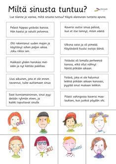 Tunnetaidot - Värinautit Finnish Grammar, Finnish Language, Education Humor, Primary Education, Educational Leadership, Educational Technology, Mobile Learning, Kids Learning, Learn Finnish