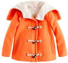 ShopStyle: Girls' stadium-cloth toggle coat