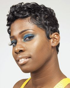 chrisette michelle hair | lol…did a google search for short hair…and came up w/my own ...