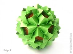 Кусудама Мастер-класс Оригами Milorada Туториал  Бумага фото 1