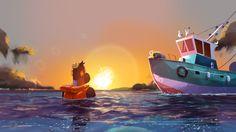 Le Tumblr de Yann. — J'ai fais des concepts 2D pour ce joli film des...