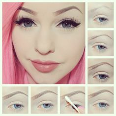perfect-eyebrows-made-easy-with-semi-permanent-make-up - More Beautiful Me 1 Perfect Eyes, Perfect Eyebrows, Nice Eyebrows, Pretty Makeup, Love Makeup, Eyebrow Makeup, Skin Makeup, Makeup Goals, Makeup Tips