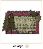 Christmas Calendar using Tim Holtz products
