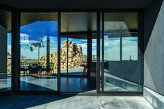 Black Desert House Contrasts Nicely in the Mojave Desert - My Modern Metropolis