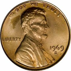 1969-S Lincoln Cent - double die obverse Valuable Pennies, Rare Pennies, Valuable Coins, Rare Coins Worth Money, Error Coins, Coin Worth, Coin Values, Old Money, World Coins