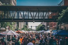 An average of 14,000 people attend The Cedar Rapids Downtown Farmers' Market the first and third Saturday of the month!