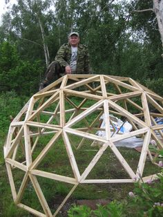 Straw bale dome domerama sd inspiration outside for Straw bale house cost calculator