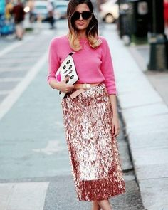Be a flamingo in a flock of pigeons! #pinkforthewin #outfitinspiration #thenextcloset