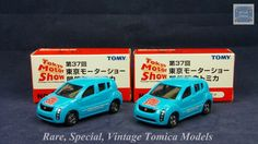 TOMICA 088C TOYOTA WILL CYPHA | 1/59 | TOKYO MOTOR SHOW 2003 | 2 MODELS