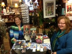 Oktoberfest 2013 Book Signing at General Store in Main Amana with Lorna Seilstad