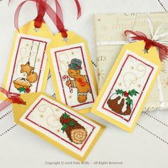 Christmas Tags (Sweets series) - Faby Reilly Designs