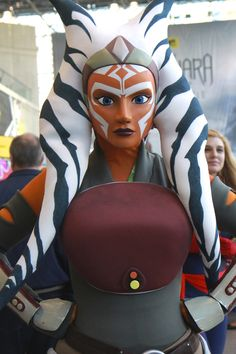 Check out Part One of our New York Comic Con 2015 Cosplay highlights! Ahsoka Tano, Cool Costumes, Cosplay Costumes, Mascot Costumes, Cosplay Ideas, Halloween Costumes, Star Wars Rebels, Love Stars, Star Wars Art