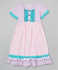 Look at this #zulilyfind! Lavender & Mint London Sister Dress - Infant & Kids by Creative Cuties #zulilyfinds