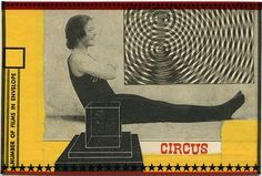 Psychedelic Circus, 2012. Collage by Angelica Paez.