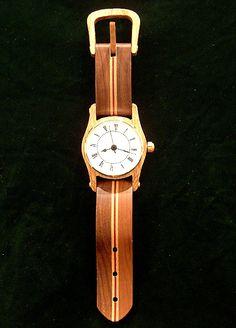 wristwatch wall clock | artist margarita friesen this enlarged replica of a wrist watch