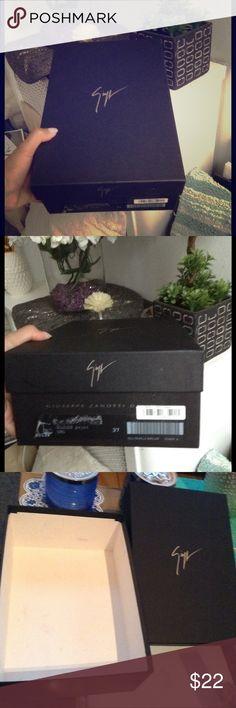 Giuseppe Zanoti shoe box Box for pumps Giuseppe Zanotti Shoes Heels