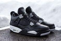 "Releasing: Air Jordan 4 Retro ""Oreo"""